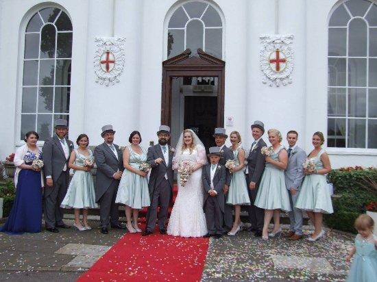 Old Windsor, UK: The White Wedding