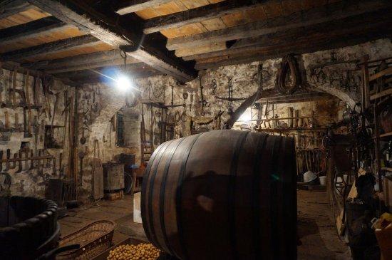 Gornji Humac, Croacia: Oude wijnkelder