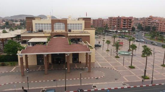 Red Hotel Marrakech: Main train station of Marrakech