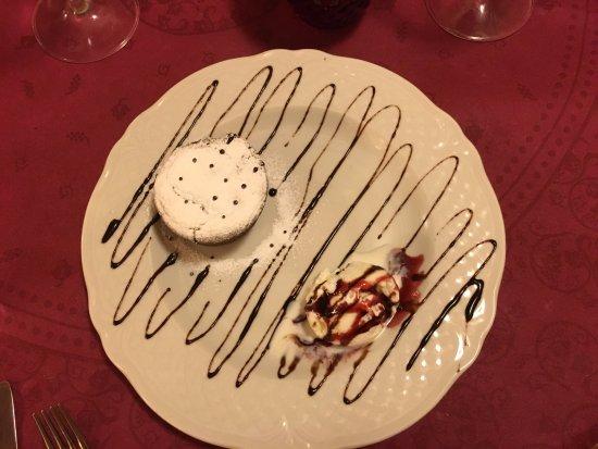 Panicale, Italy: Torta di ciocolata