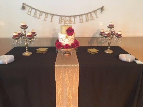 Frederick, MD : Red Velvet Cupcakes and Beaded Tassel Cake