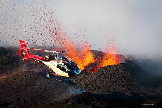 Saint-Gilles-Les-Bains, Reunion Adası: Eruption septembre 2016