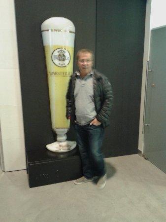 Warstein, Alemania: Bezoekje aan de brouwerij.