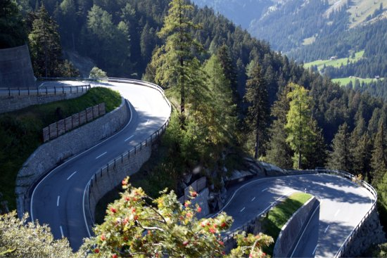 Canton of Graubunden, İsviçre: Maloja Pass
