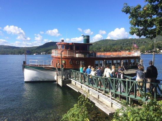 Bolton Landing, estado de Nueva York: Morgan Ferry