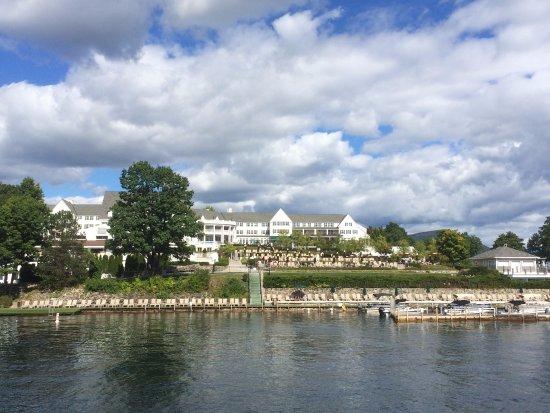 Bolton Landing, estado de Nueva York: View of Main Hotel