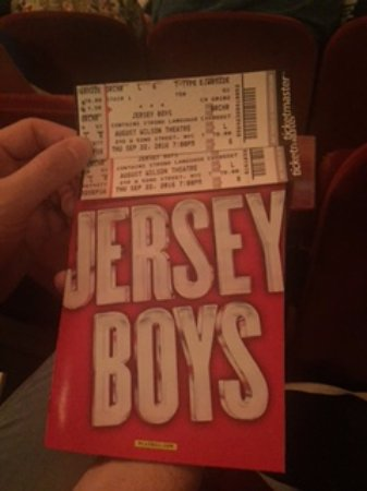 Jersey Boys : Great fun!!