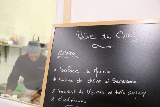 Castelnau-le-Lez, Francia: Possibilité de voir le chef cuisinier pendant le service