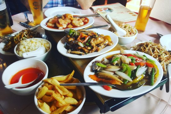 Uttoxeter, UK: Delicious lunch at Mr Woo