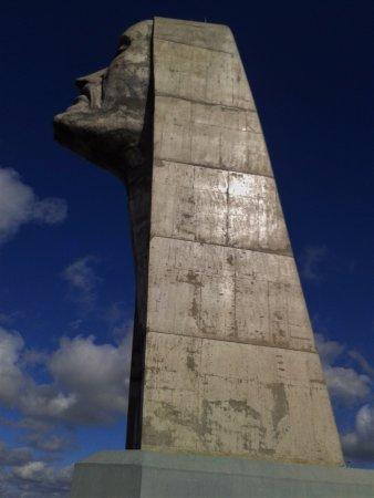 Réplica de Caxias do Sul - 1885:  Cristo do sec. XXI, Localizado no Parque da Festa da Uva