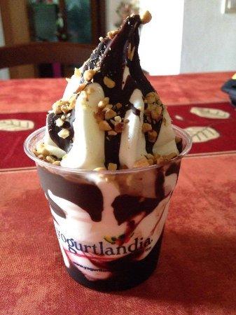 San Vito, إيطاليا: yogurt gelato