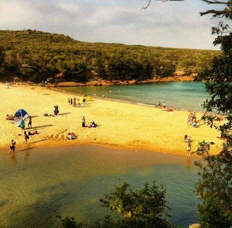 Wollongong, Australien: Vista da trilha