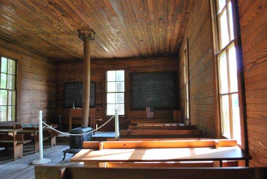 Kenly, Carolina del Norte: Tobacco Farm Life Museum School House