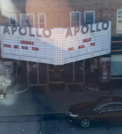 "Oberlin, OH: The view of the ""famous"" Apollo Theater from Room 301!"