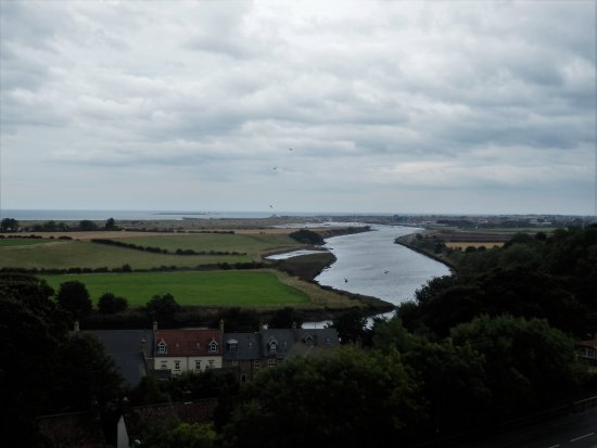 Warkworth, UK: View of the River Coquet.