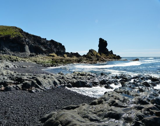 Hellnar, İzlanda: Djupalonssandur