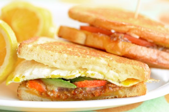 Bacon Jam Sam - Picture of Egg Harbor Cafe, Hinsdale - TripAdvisor