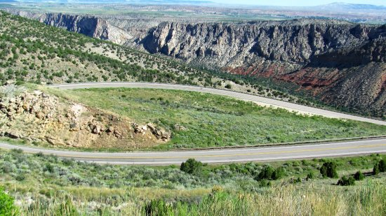 Manila, UT: The road to Flaming Gorge National Recreation Area