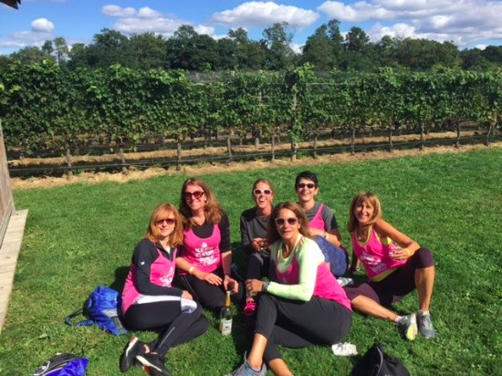 Mattituck, NY: After lunch at Jason's Vineyard