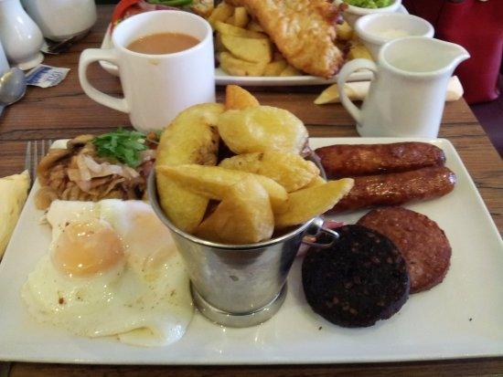 Kells, Irland: Mixed Grill Scrummy Also