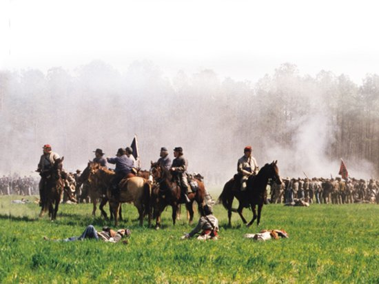 Four Oaks, NC: Bentonville Battlefield Reenactment