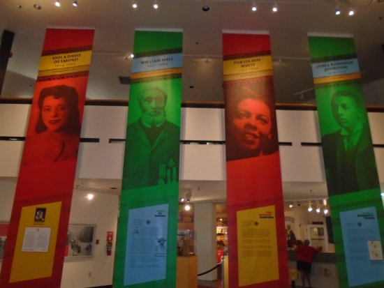 Dartmouth, Kanada: Hall of Banners - African Nova Scotians