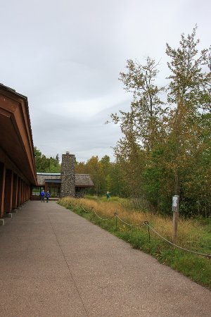 Two Harbors, MN: The visitors center