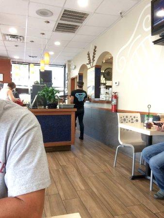 Brooksville, FL: Inside of Greek City