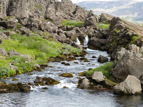 Thingvellir, Islandia: where they used to drown people