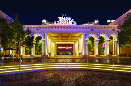 Monte Carlo Resort & Casino: Property Front