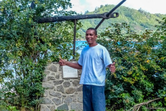 Isla Mahé, Seychelles: Roddy, our guide