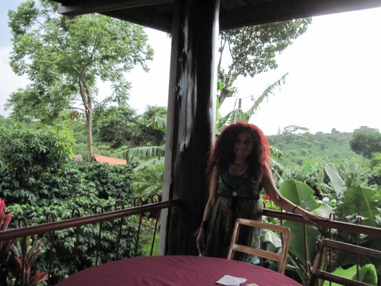 Poas Volcano National Park, Kostaryka: En en restaurante lista para almorzar