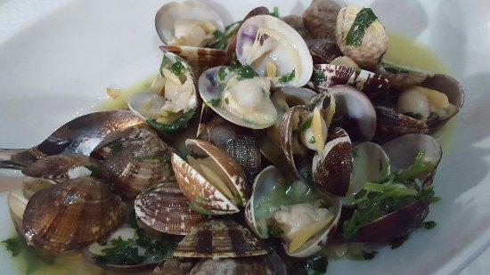 Restaurante Ribamar: Good Clams!