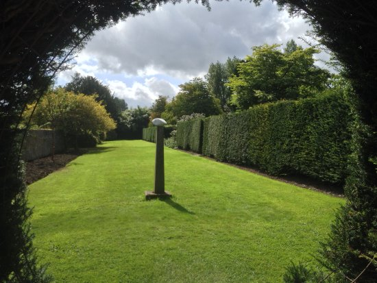 Lismore, Ireland: Art is incorporated within the extensive gardens