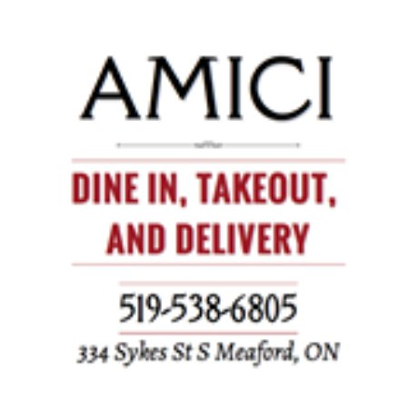 Meaford, Canada: Dine in, take out and Delivery