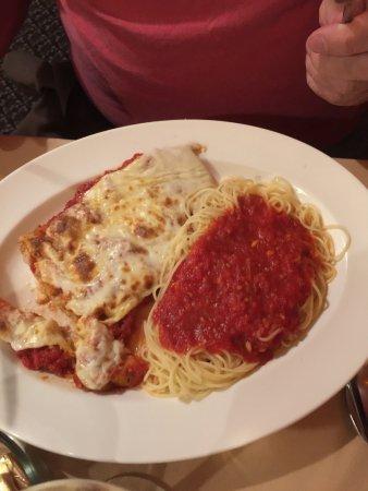 Саранак-Лейк, Нью-Йорк: Veal parmesan