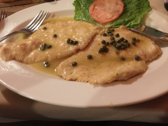 Саранак-Лейк, Нью-Йорк: Chicken Picatta could have used a vegetable.