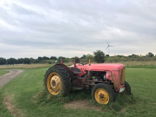 Nympsfield, UK: Tractor