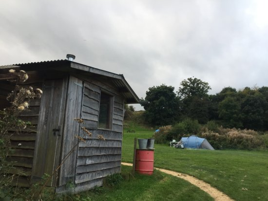 Nympsfield, UK: Washing up facilities