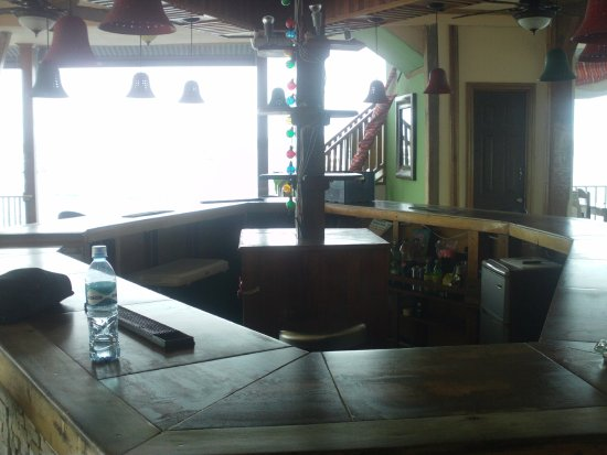 Carenero Island, Panamá: barra del bar