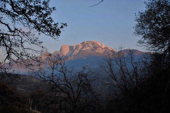 Three Rivers, Kalifornien: Paysage montagneux