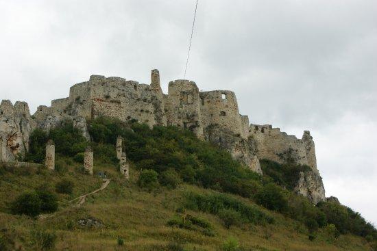 Koszyce, Słowacja: Zamek od strony parkingu