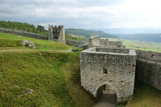 Koszyce, Słowacja: Mury