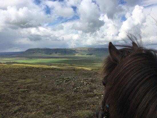 Fludir, Исландия: The views are unreal.