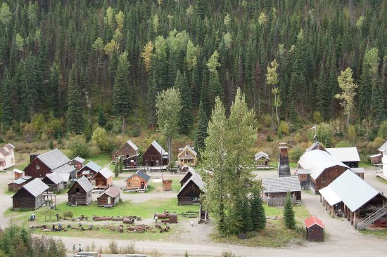 Barkerville, Canada : A portion of the town.
