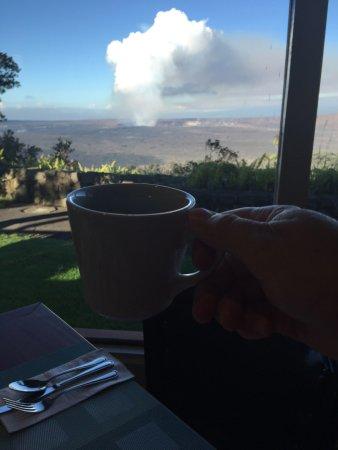 Volcano House: cuppa joe