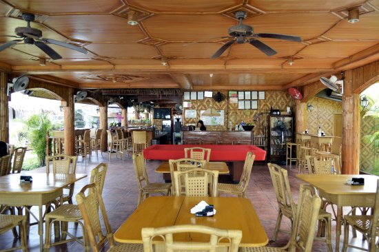 CouCou Bar & Restaurant: The bar and restaurant....