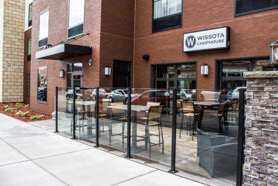 Chippewa Falls, WI: Check out our patio!