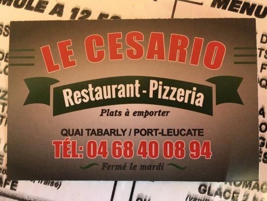 Leucate, Frankrike: La carte
