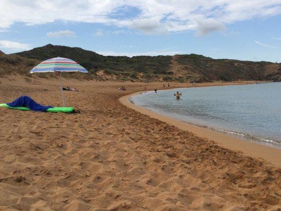 Mercadal, Spanien: Spiaggia di Cavalleria.